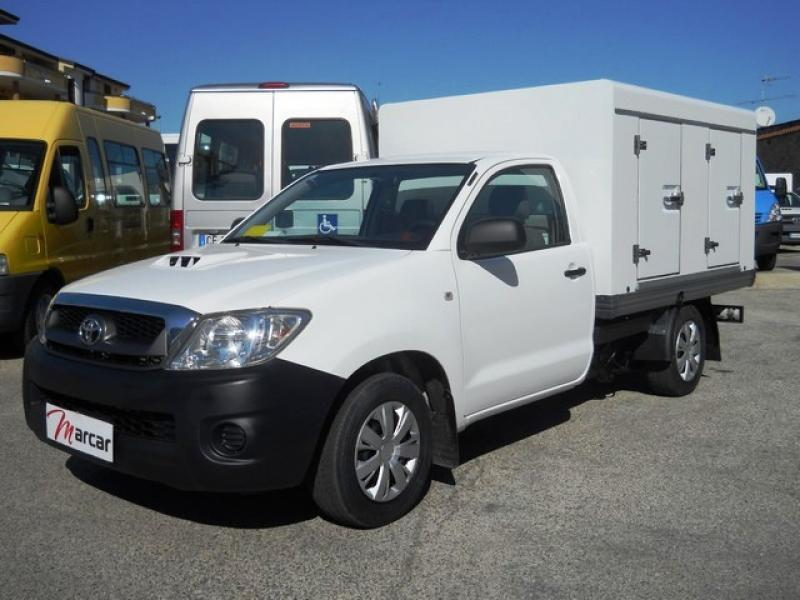 Toyota Hilux Refrigerato a Piastre